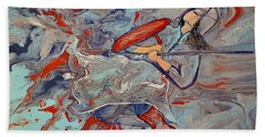 Into The Fray Hand Towel