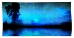 Hand Towel featuring the photograph Into The Night by Joel Witmeyer