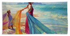 Into The Surf Hand Towel