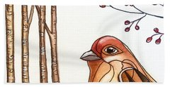Into The Woods Hand Towel