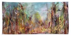 Into Those Woods Hand Towel