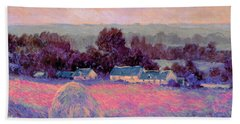 Inv Blend 10 Monet Bath Towel by David Bridburg
