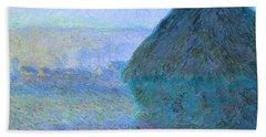 Inv Blend 21 Monet Bath Towel by David Bridburg