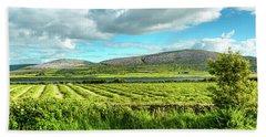 Ireland  - Burren Panorama Hand Towel