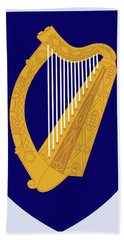 Ireland Coat Of Arms Bath Towel by Movie Poster Prints