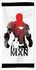 Iron Man Hand Towel