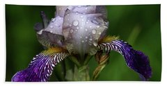 Iris After The Rain 1409 H_2 Bath Towel