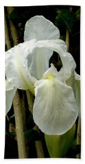 Iris After The Storm Hand Towel