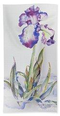 Iris Passion Bath Towel