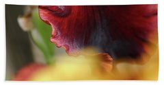 Iris Petals 2 -  Bath Towel