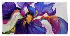 Iris Serenity Hand Towel