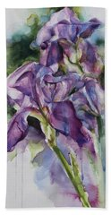 Iris Song Hand Towel