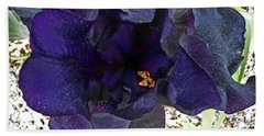 Irises 1 Hand Towel