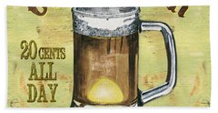 Irish Pub Hand Towel by Debbie DeWitt