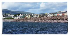 Irish Seaside Village - Co Kerry  Hand Towel