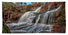 Ironstone Gully Falls 2016 Bath Towel