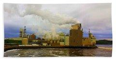 Irving Pulp Mill #3 Bath Towel
