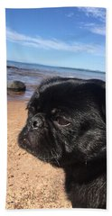 Hand Towel featuring the photograph Is This My Good Side? by Paula Brown