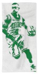 Isaiah Thomas Boston Celtics Pixel Art 2 Bath Towel