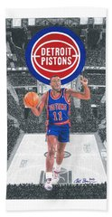 Isiah Thomas Hand Towel
