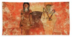 Isis And Osiris By Raphael Terra And Mary Bassett Hand Towel