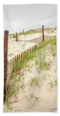 Island Beach Dunes Bath Towel