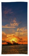 Island In The Sun Hand Towel by Marvin Spates