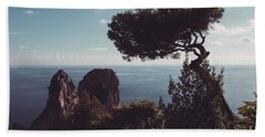 Island Of Capri - Italy Hand Towel