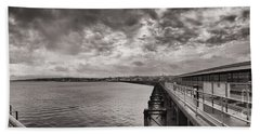 Island Panorama - Ryde Bath Towel