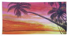 Island Sunrise Hand Towel