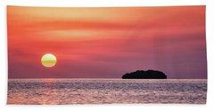 Island Sunset Hand Towel