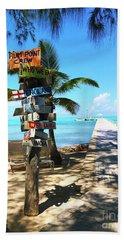 Island Time Hand Towel