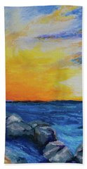 Island Time Bath Towel by Stephen Anderson