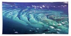 Island Under The Sea Hand Towel