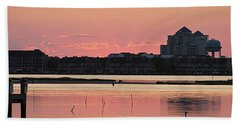 Isle Of Wight Dawn Bath Towel