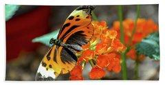 Ismenius Tiger Butterfly Bath Towel