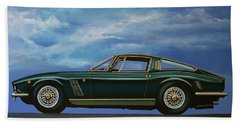 Iso Grifo Gl 1963 Painting Hand Towel