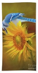 It Is All About The Seeds Hand Towel by Janette Boyd