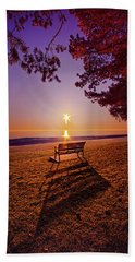 Hand Towel featuring the photograph It Is Words With You I Seek by Phil Koch