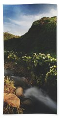Hand Towel featuring the photograph It Was A Hard Winter by Laurie Search