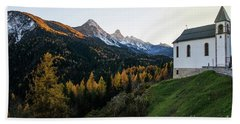 Bath Towel featuring the photograph Italian Alps I by Yuri Santin