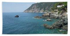 Italian Coast Hand Towel by Loriannah Hespe