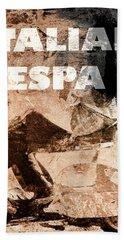 Italian Vespa Bath Towel
