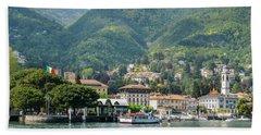 Italian Village On Lake Como Hand Towel