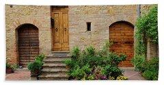 Italy - Door Eight Hand Towel