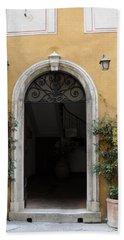 Italy - Door Thirteen Bath Towel