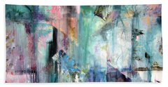 Hand Towel featuring the painting Italy Experience by Jodie Marie Anne Richardson Traugott          aka jm-ART