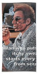 Itchy Sweater Hand Towel