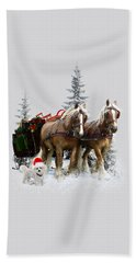 A Christmas Wish Bath Towel
