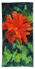 I've Got My Red Dress On Bath Towel by Billie Colson